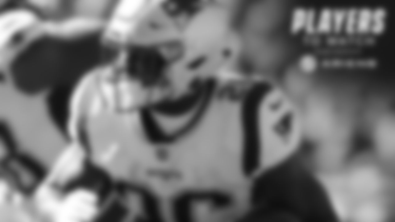 Sony Michel, RB – According to ESPN, the rookie running back will return to action against Tennessee after missing two-plus games to a knee injury. Michel will hopefully work his way back into action against a middle-of-the-pack Titans run defense, looking to get back to the roll he was on prior to the injury.