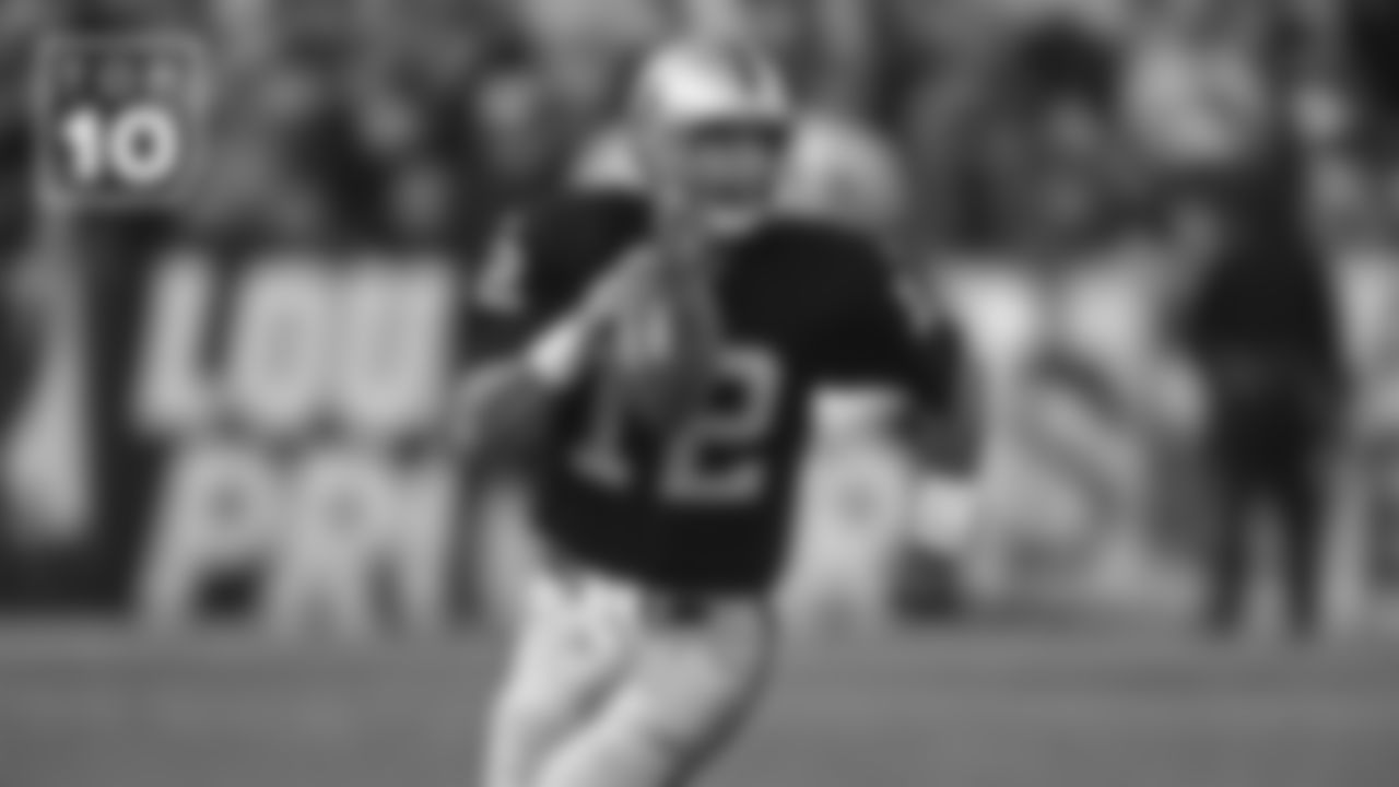 QB Rich Gannon, with the Raiders from 1999-2004