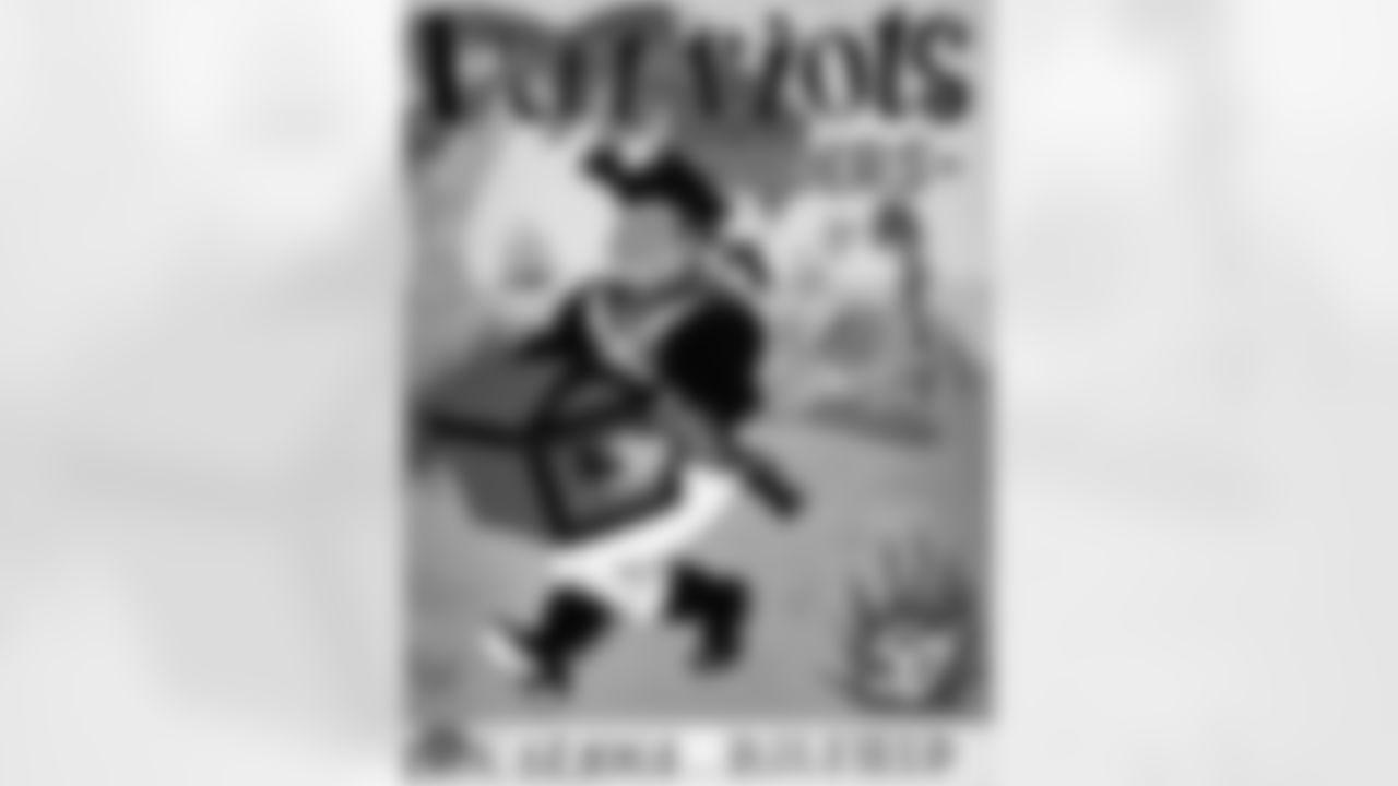 A copy of the program for the Raiders regular season away game against the Boston Patriots at Boston University Field, Friday, November 17, 1961.