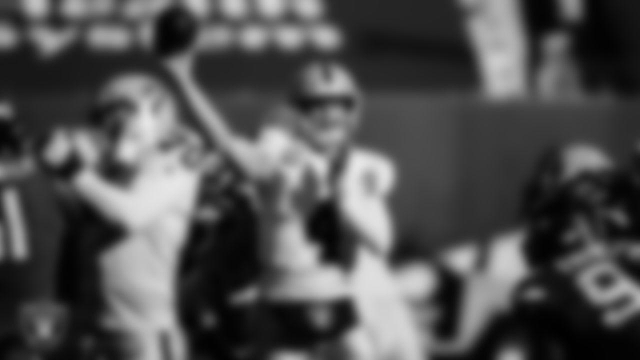 1. Derek Carr (2014-Present)  Total passing touchdowns: 170