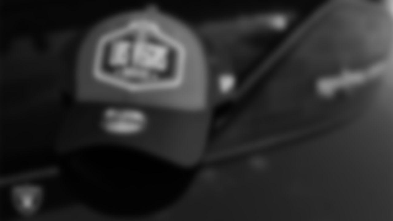 The Las Vegas Raiders 2021 NFL Draft cap.