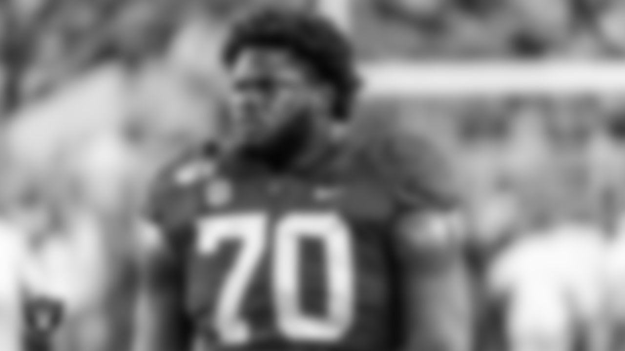 OL Alex Leatherwood First Round (17th overall) Alabama