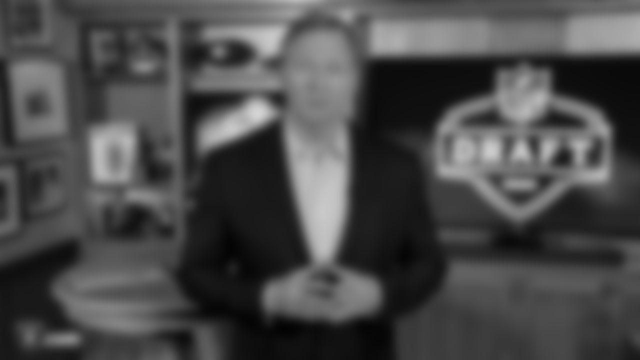NFL Commissioner Roger Goodell kicks off the start of the 2020 NFL Draft.