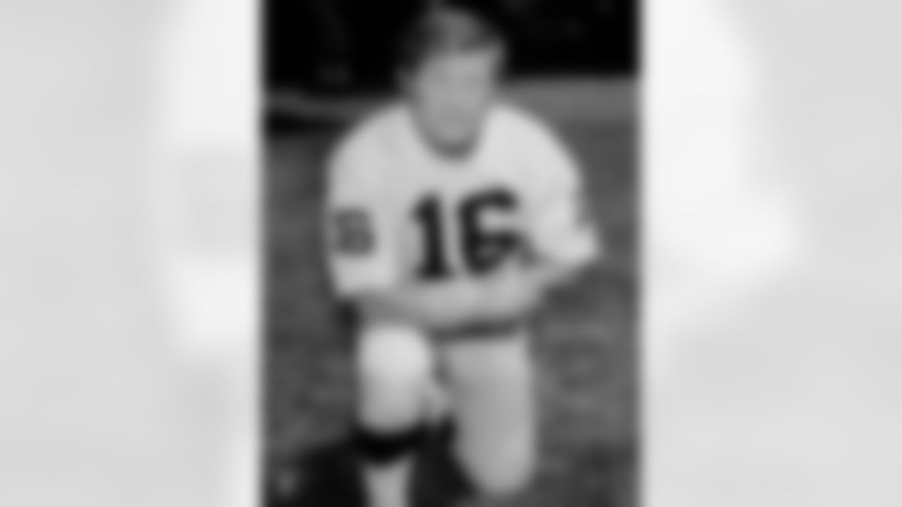 George Blanda played for the Raiders as a quarterback and kicker from 1967-75. His 863 points are 2nd all-time in Raiders history. He was inducted into the Pro Football Hall of Fame in 1981. Blanda was a member of the 1967 AFL Championship team that lost to Green Bay in Super Bowl II.