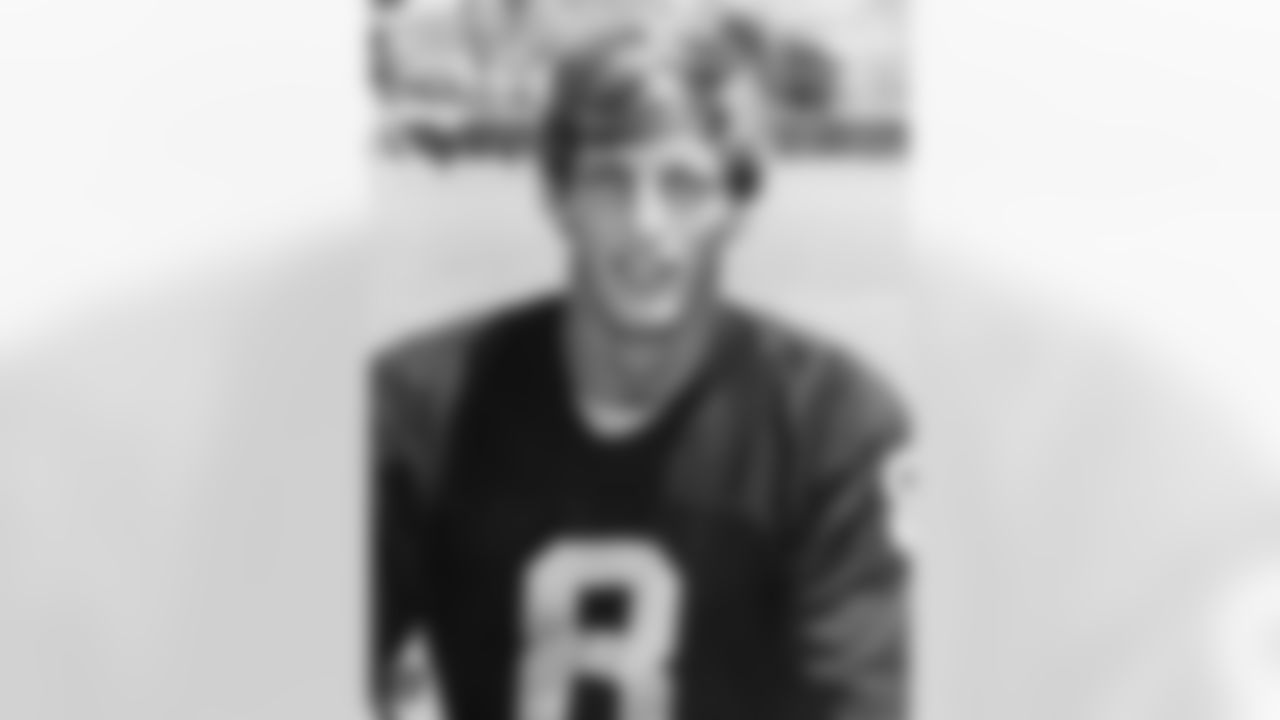 "Ray Guy punted 1,049 times during his career for 44,493 yards for an average of 42.5 yards per punt. He perfected the ""coffin corner"" punt and won three Super Bowls with the Silver and Black. Guy became the first punter inducted into the Pro Football Hall of Fame in 2014."