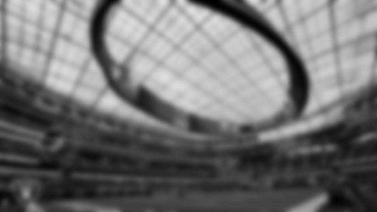 A view of SoFi Stadium, the stadium for the Las Vegas Raiders' preseason away game against the Los Angeles Rams.