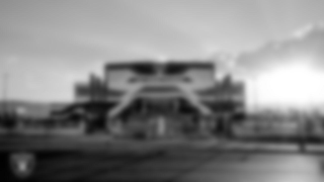 Raiders Headquarters and Intermountain Healthcare Performance Center construction progress.