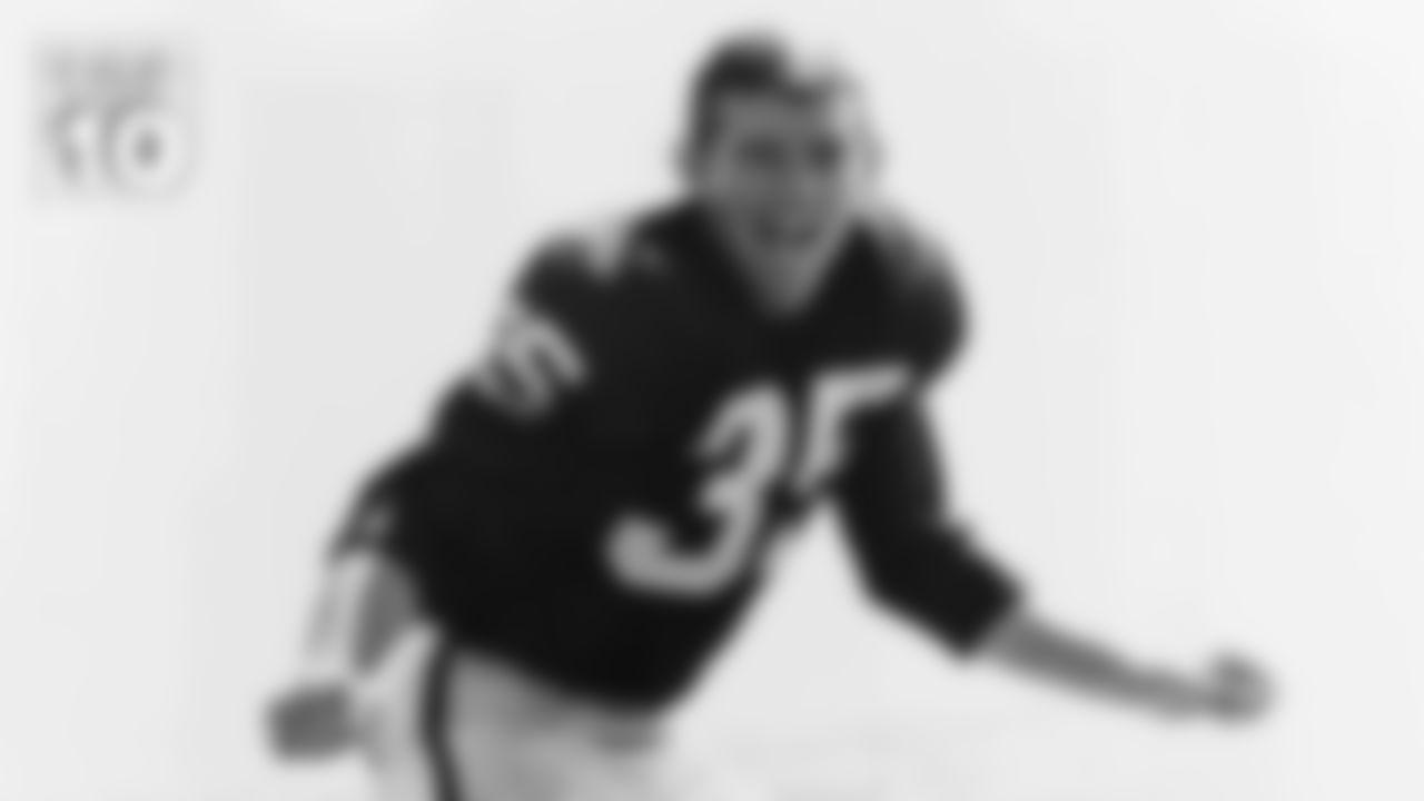 10. DB Tom Morrow (1962-1964)  23 interceptions in 42 games.