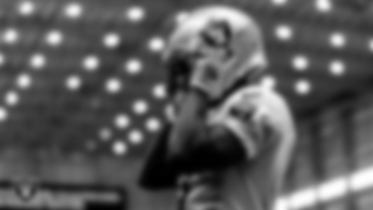 Las Vegas Raiders wide receiver Henry Ruggs III (11) during practice.