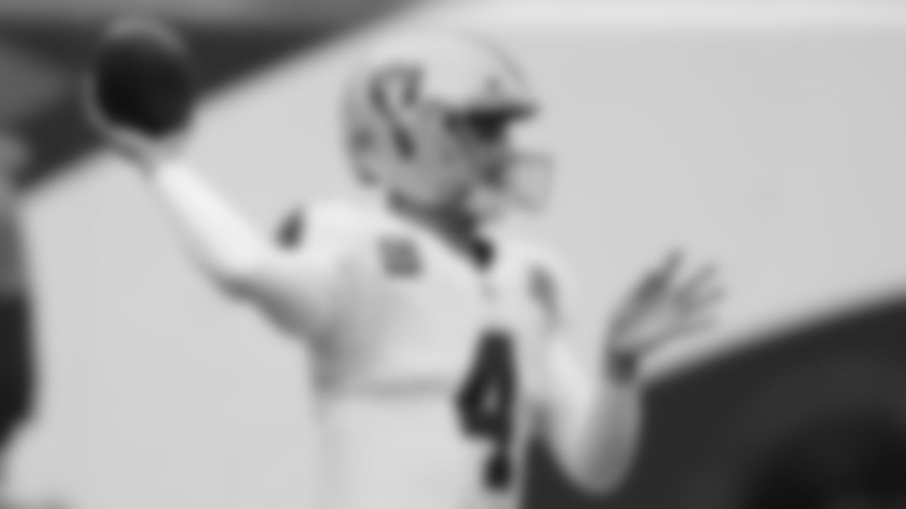 Derek Carr, Week 1 vs. Las Vegas Raiders  Career stats: 110 games, 64.4% completions, 170 touchdowns, 71 interceptions, 92.1 QB rating _2020 stats: 67.3% completions, 4,103 yards, 27 touchdowns, 9 interceptions, 101.4 QB rating_  Carr is 1-1 against the Ravens and he last faced them in 2018 when Baltimore defeated the Raiders, 34-17, at M&T Bank Stadium. His favorite target is Darren Waller, a former Raven who has blossomed into one of the NFL's top tight ends. Carr is the Raiders' all-time leader in passing yards (22,793) and has thrown for over 4,000 yards the past three seasons.