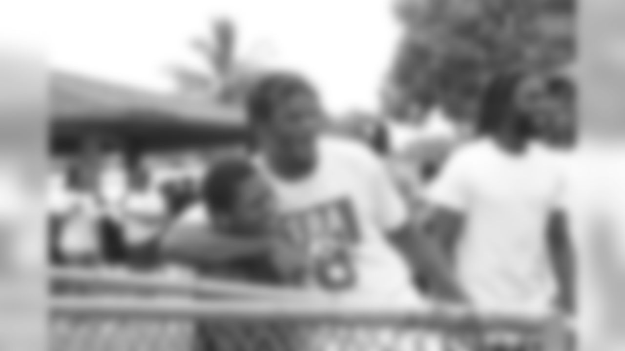 Lamar Jackson's 2nd Annual Fun Day at McNair Park in Pompano Beach, Fla.