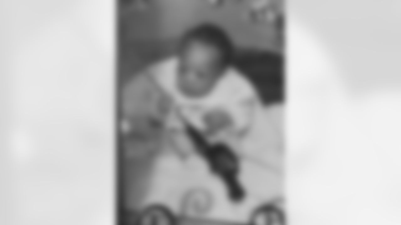 Rashod Bateman's baby photo.