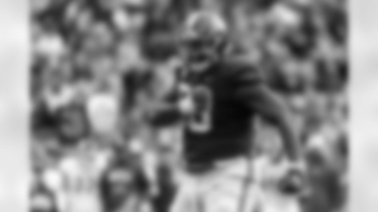 DE Christian Barmore, Alabama  6-foot-4, 310 pounds  Barmore ran a 4.93 40-yard dash at his Pro Day, really moving for someone his size. That matches the 40 time of former Alabama defensive lineman Marcell Dareus, who was the third-overall pick in 2011. Barmore will not be drafted that high, but Baltimore has coveted Alabama players and defensive linemen. Barmore could be someone to watch on Day 2.