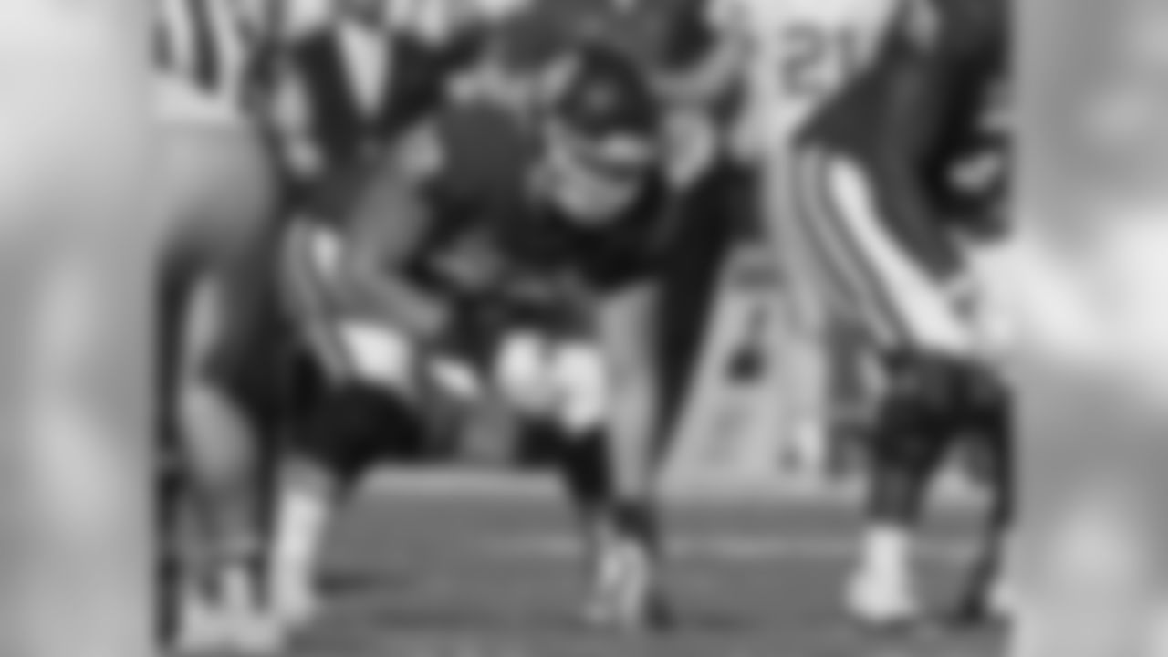 Oklahoma offensive lineman Ben Powers (72) during an NCAA college football game between Kansas State and Oklahoma in Norman, Okla., Saturday, Oct. 27, 2018. (AP Photo/Sue Ogrocki)