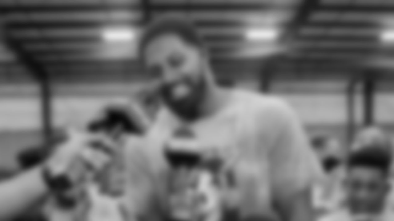 Cameron Jordan: Thanks to everyone who showed support in the God Iz Love camp this past week!