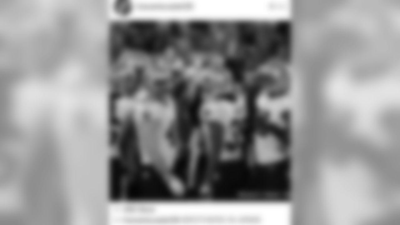 Travaris Cadet's instagram post