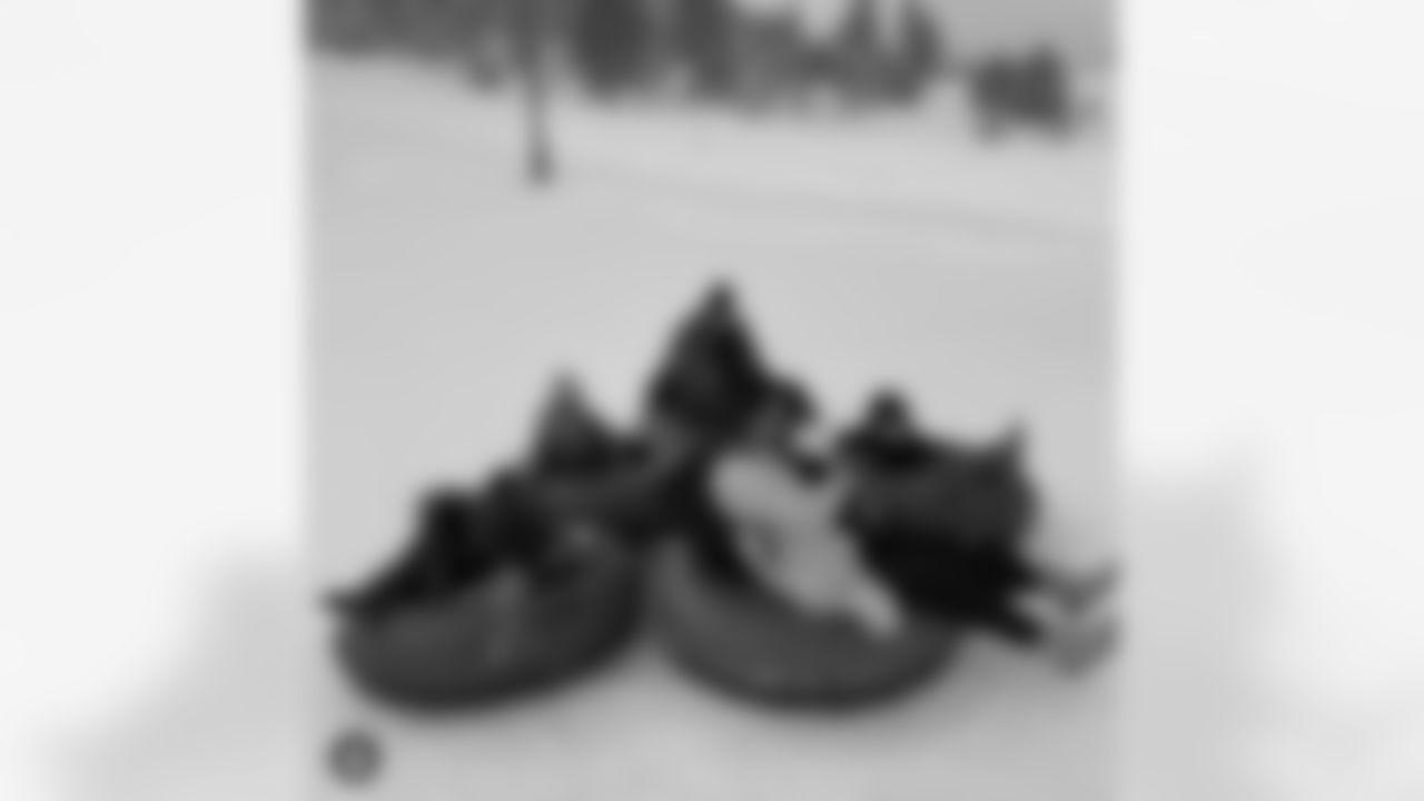 Cam Jordan: Cold weather shenanigans #Jordan6