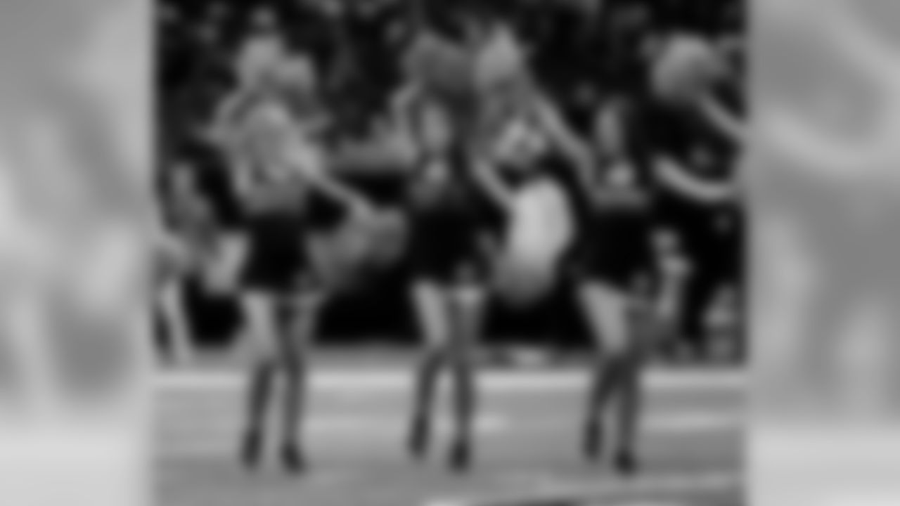 The Saintsations took to the field and performed for fans during Week 5 between the Saints and Buccaneers at the Mercedes-Benz Superdome