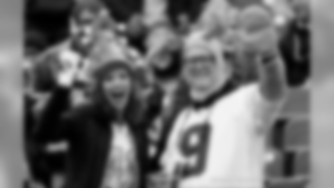 New Orleans Saints fans cheered on the team as the Saints defeated the Tennessee Titans in week 16 of the 2019 NFL season.