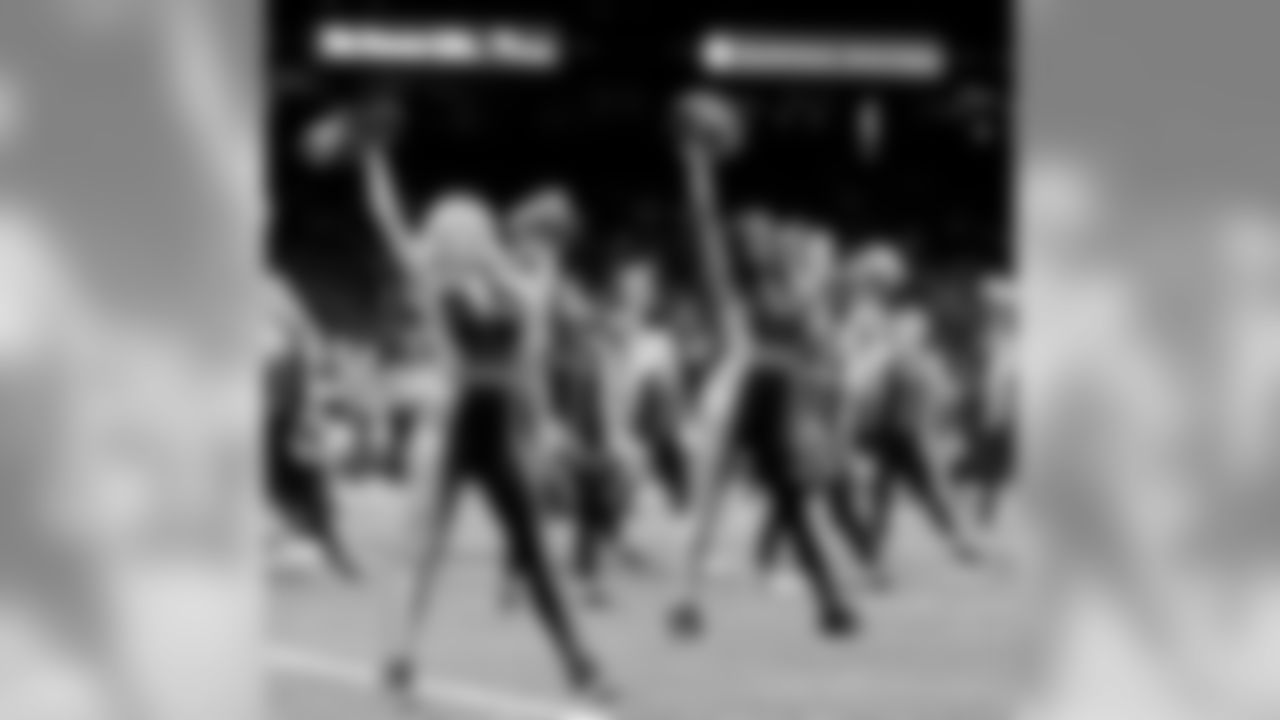 The Saintsations and Saintsations Alumni took to the field and performed for fans during Week 8 between the Saints and Cardinals at the Mercedes-Benz Superdome.