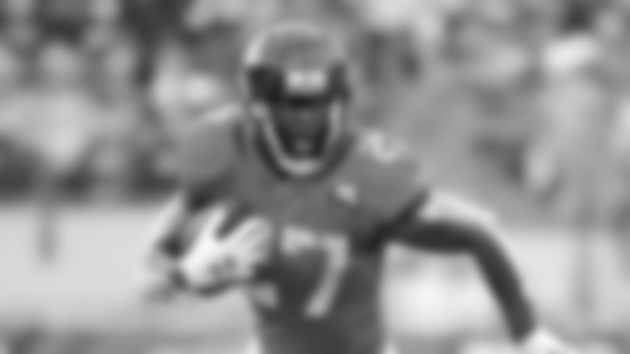 12 Important Fantasy Players - Tampa Bay Buccaneers running back Leonard Fournette, pictured while playing for the Jacksonville Jaguars (AP/Phelan M. Ebenhack)
