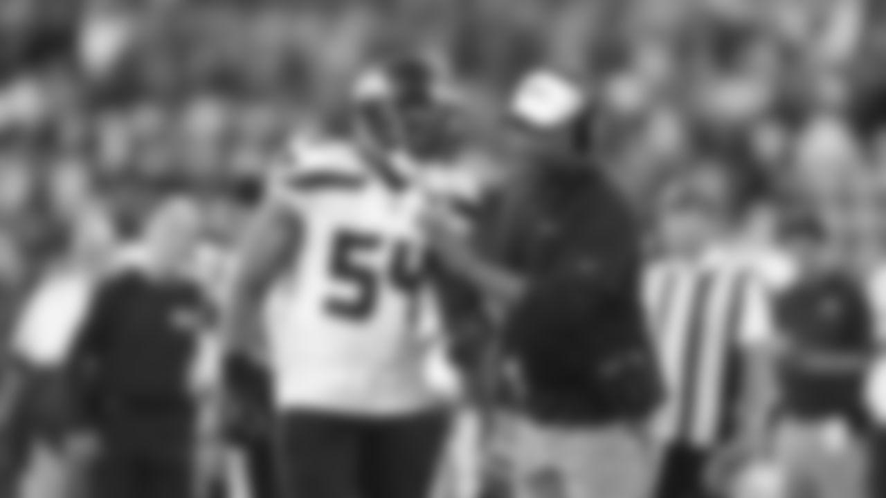 LB Bobby Wagner and Defensive Coordinator Ken Norton JR.