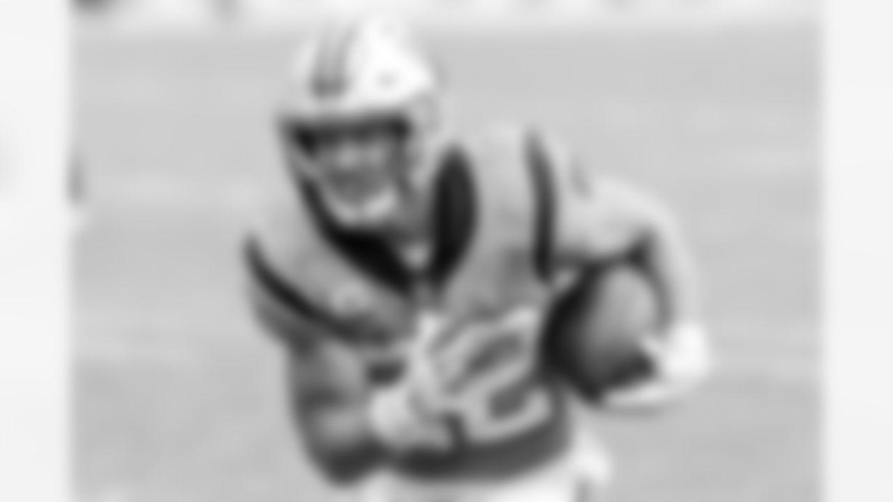 2021 Fantasy Football Top 25: #1 Carolina Panthers Running Back Christian McCaffrey (AP Photo/Mark LoMoglio)