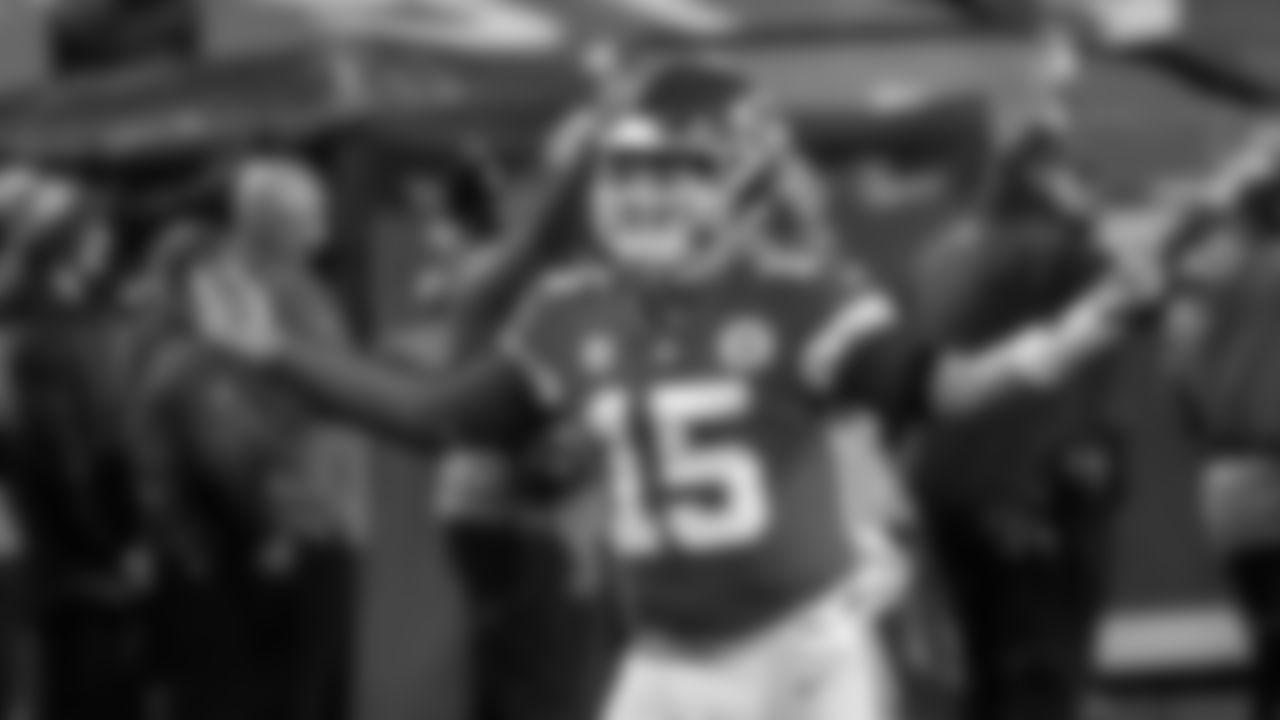2021 Fantasy Football Quarterback #1: Kansas City Chiefs Quarterback Patrick Mahomes (AP Photo/Jeff Roberson)