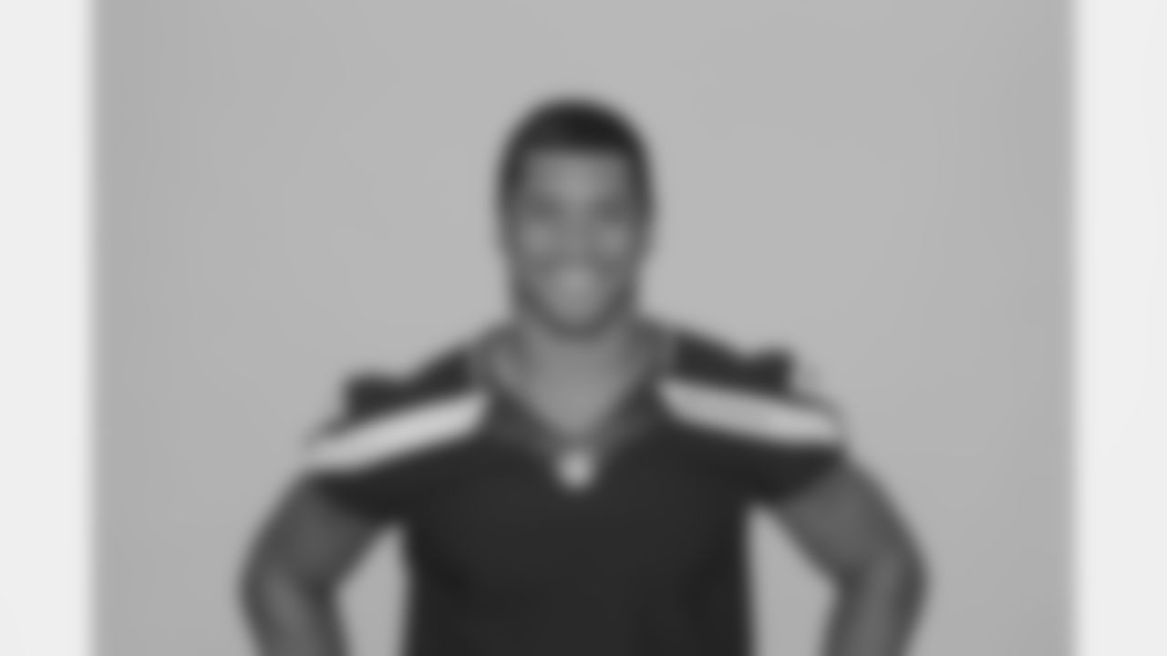 Photos of Seattle Seahawks quarterback Russell Wilson during his rookie season in 2012.