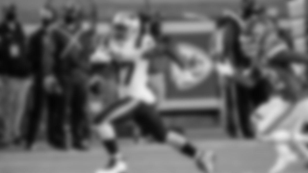 New England Patriots Running Back Damien Harris (AP Photo/Jeff Roberson)