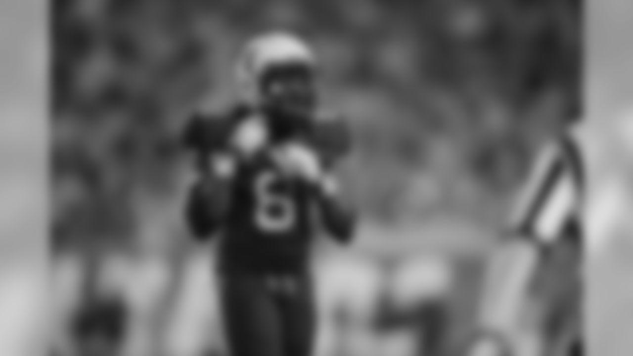 West Virginia safety Karl Joseph (8)during a NCAA college football game, Saturday, Sept. 5, 2015, in Morgantown, W.Va. (AP Photo/Raymond Thompson)