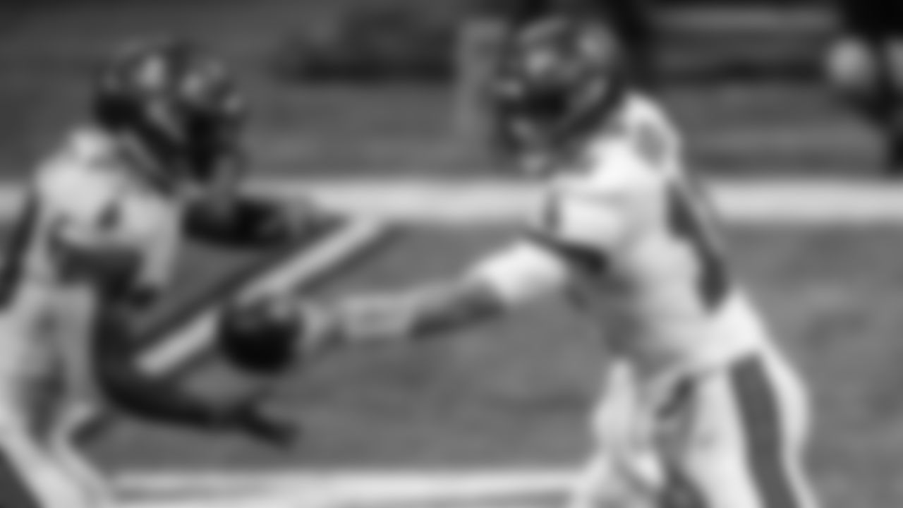 Tampa Bay Buccaneers Running Back Leonard Fournette (AP Photo/Danny Karnik)