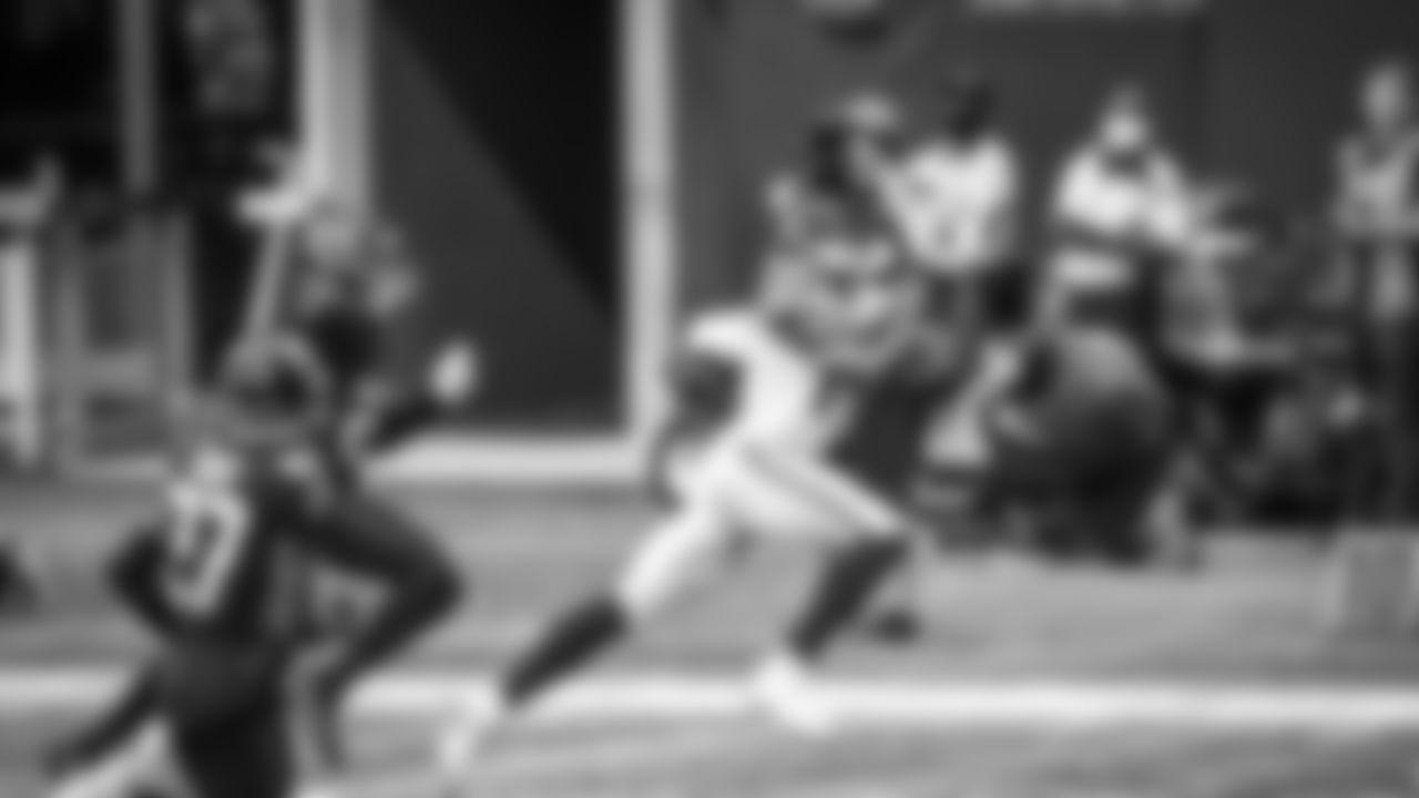 Touchdown #1: Week 1 - 38 yards vs. Falcons