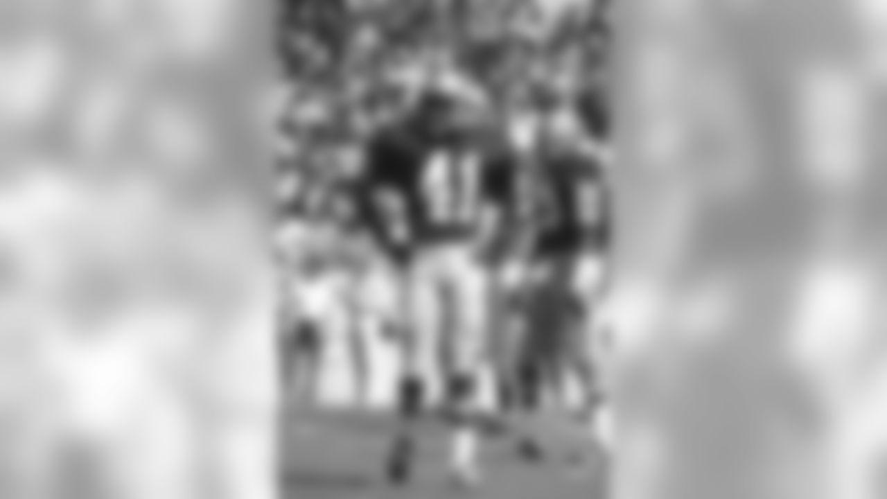 Seattle Seahawks cornerback Eddie McMillan (41) during an NFL game against the Tampa Bay Buccaneers, Oct. 17, 1976, in Tampa, Fla. (NFL Photos via AP)