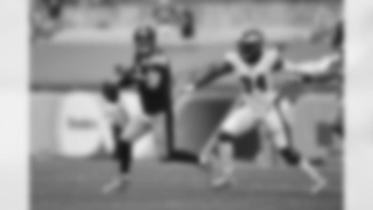 Pittsburgh Steelers quarterback Ben Roethlisberger (7) during a regular season game between the Pittsburgh Steelers and the Philadelphia Eagles, Sunday, Oct. 11, 2020 in Pittsburgh, PA. (Karl Roser / Pittsburgh Steelers)