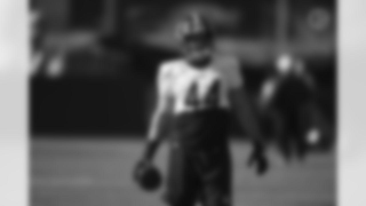 Pittsburgh Steelers fullback Derek Watt (44) practices at the UPMC Rooney Sports Complex preparing for a Week 10 matchup against the Cincinnati Bengals, Friday, Nov. 13, 2020 in Pittsburgh, PA. (Karl Roser / Pittsburgh Steelers)