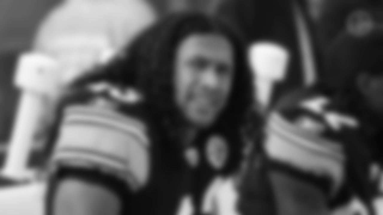 Hall of Fame Pittsburgh Steelers safety Troy Polamalu