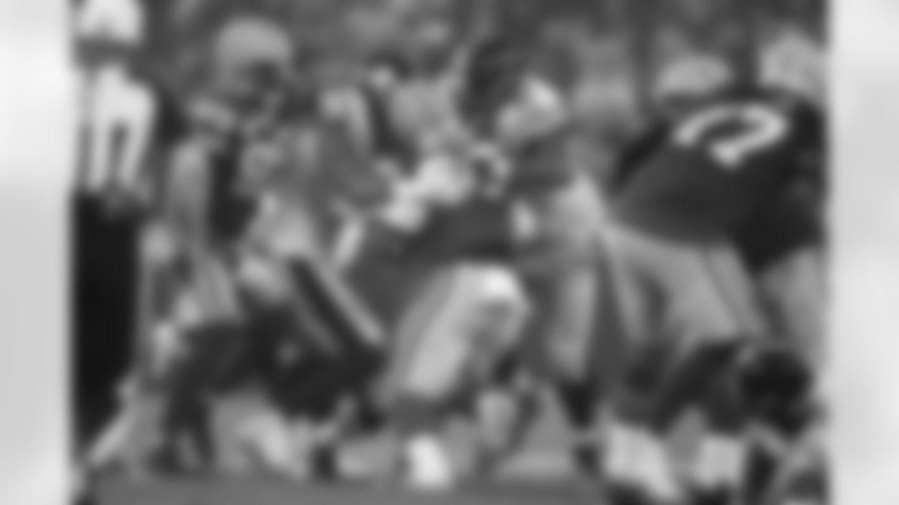 Pittsburgh Steelers linebacker Alex Highsmith (56) and Pittsburgh Steelers defensive tackle Cameron Heyward (97) during a regular season game between the Pittsburgh Steelers and the Green Bay Packers, Sunday, Oct. 3, 2021 in Green Bay, WI. The Packers beat the Steelers 27-17. (Karl Roser / Pittsburgh Steelers)
