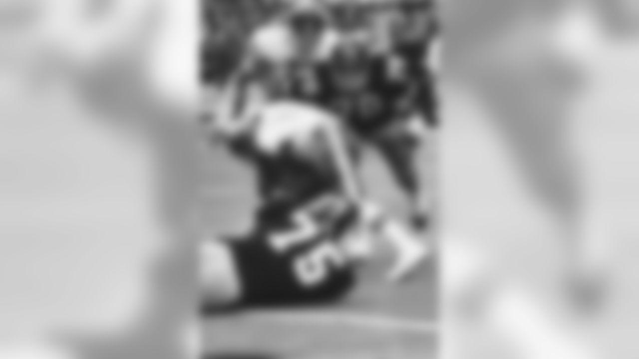 10. Dwight White (71-80) - 46 career QB sacks