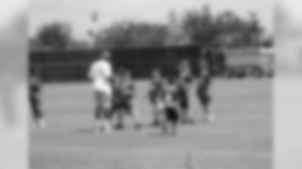 Youth football camp highlights