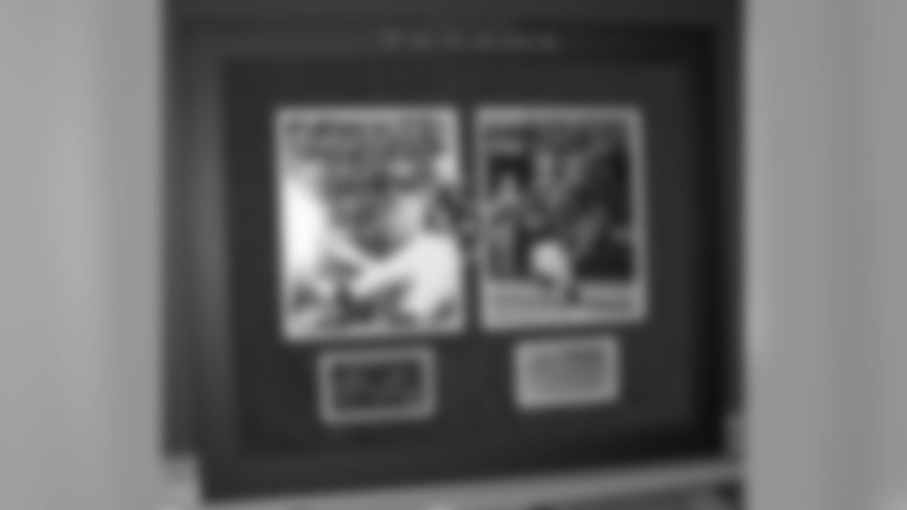 Custom Framed JJ Watt Playoff TD Pictures with Autograph