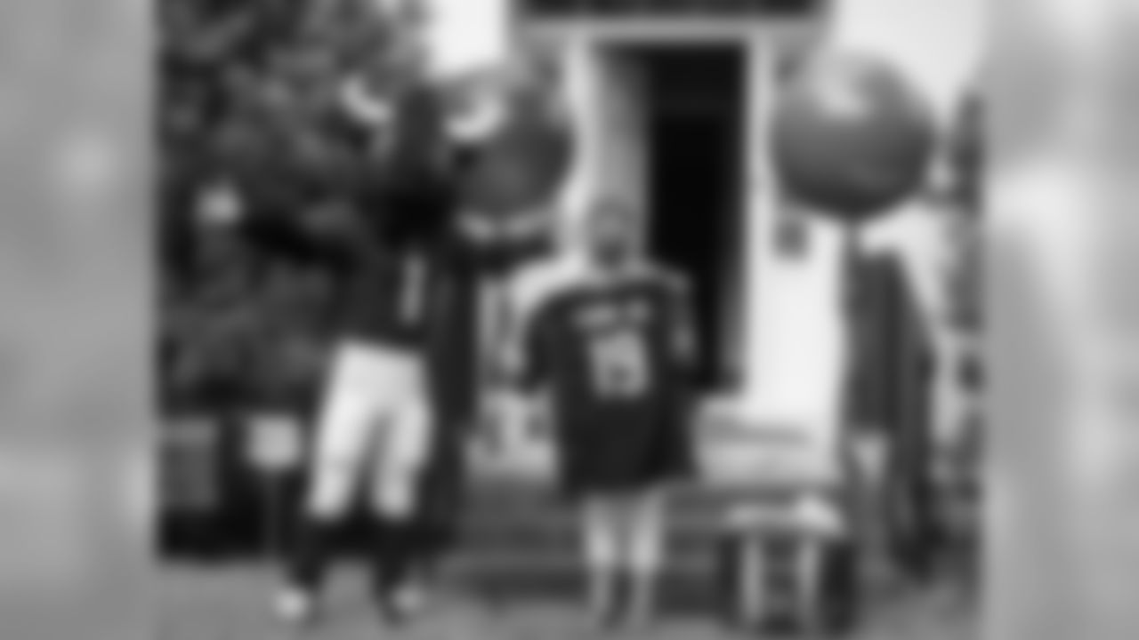 An image from the July 22, 2020 CD Community Quarterback surprise at Annette Tarver's home in Houston,TX.