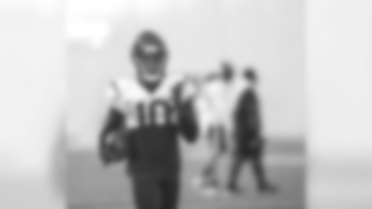 A Sept. 6, 2018 image of a regular season Texans practice.