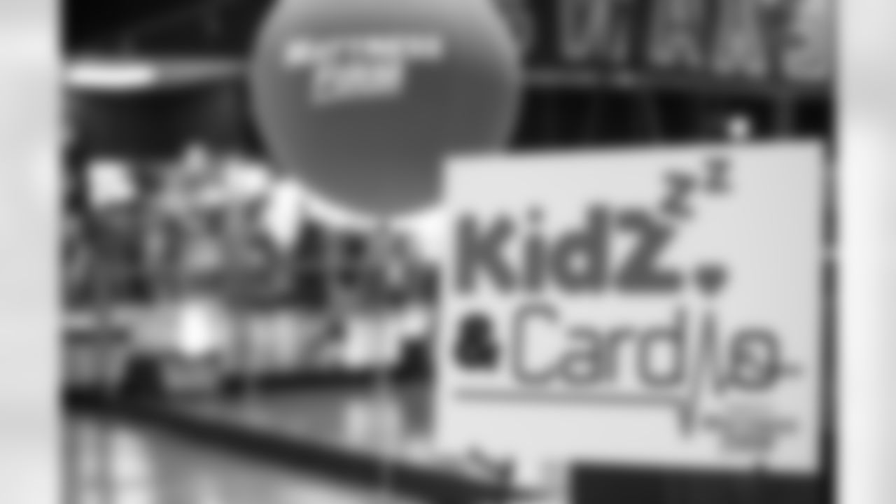 An image from the May 6, 2021 Kidzzz & Cardio Marketing Event at the Meyerland Texans Fit in Houston, TX.