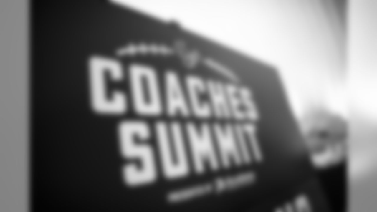A July 14, 2018 community development image of the coaches summit inside the performance center.