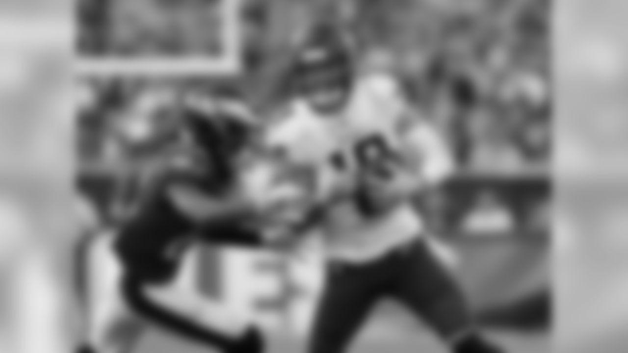 Wide receiver Adam Thielen