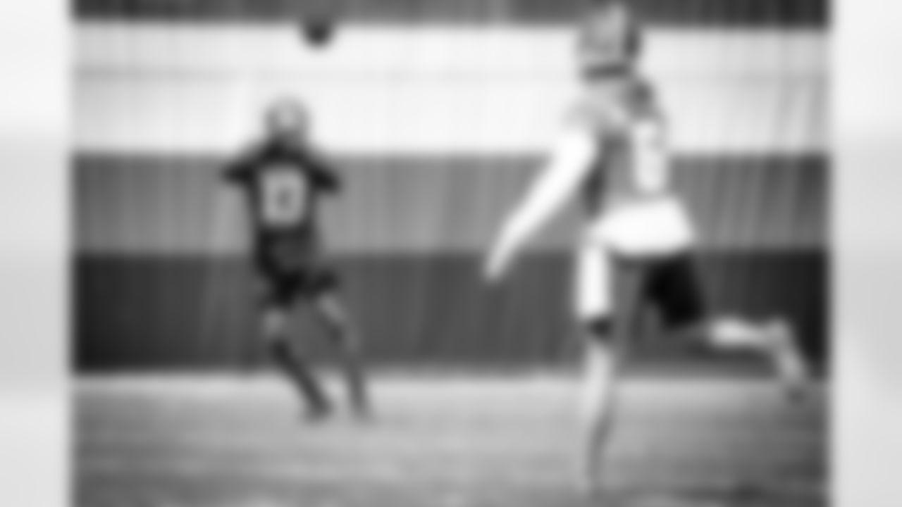 Wide receiver Odell Beckham Jr. (13) during practice on September 6, 2020