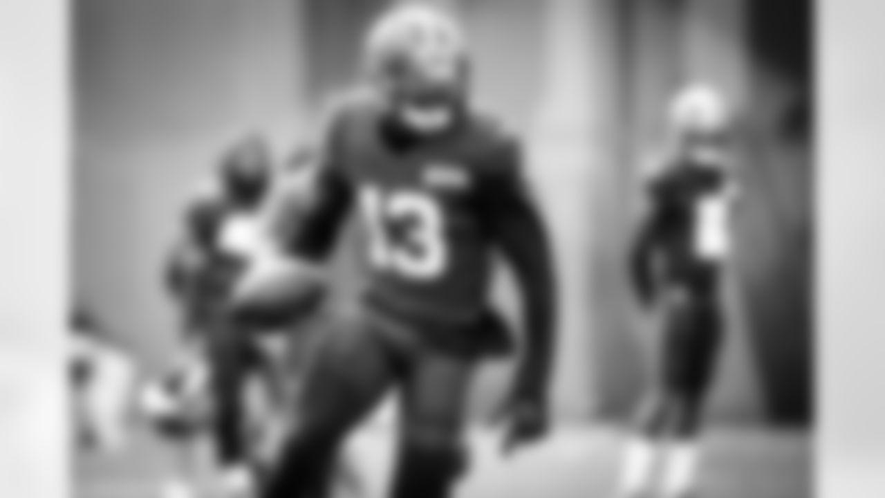 Wide receiver Odell Beckham Jr. (13) during practice on September 30, 2020