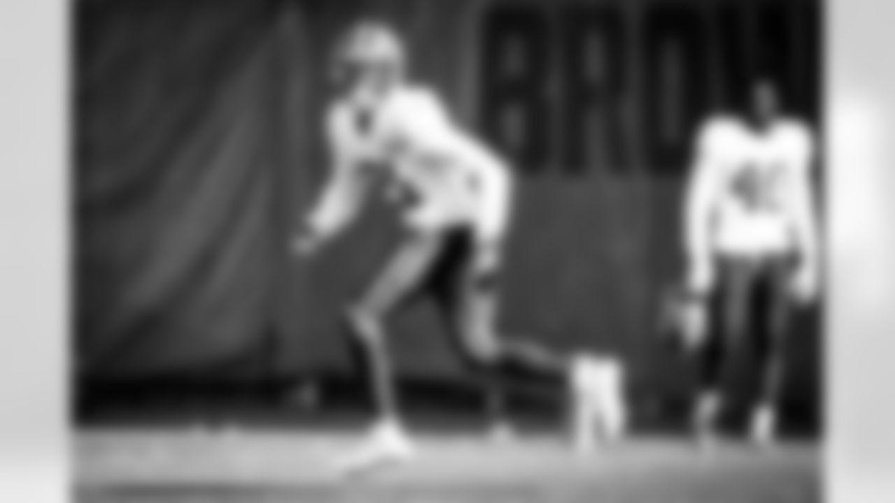 Cornerback Denzel Ward (21) during practice on November 4, 2020