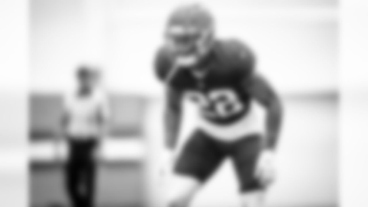 Safety Grant Delpit (22) during practice on September 22, 2021.
